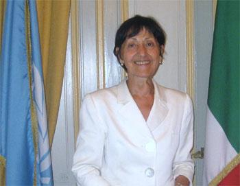 ambasciatore Laura Mirachian, presidente Donna Diplomatiche Italiane/Mae