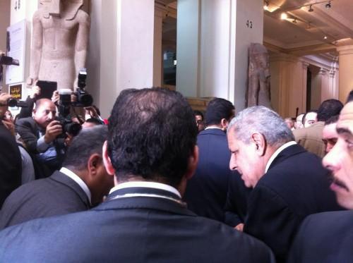 Primo ministro egiziano S.E. Ibrahil Mahlab egitto