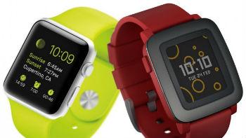 AppleWatch vs Pebble Time