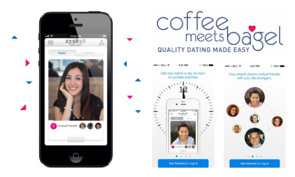 Apps like coffee meets bagel