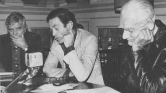 Nico-Naldini-Pasolini-e-Alberto-Moravia-nel-1974
