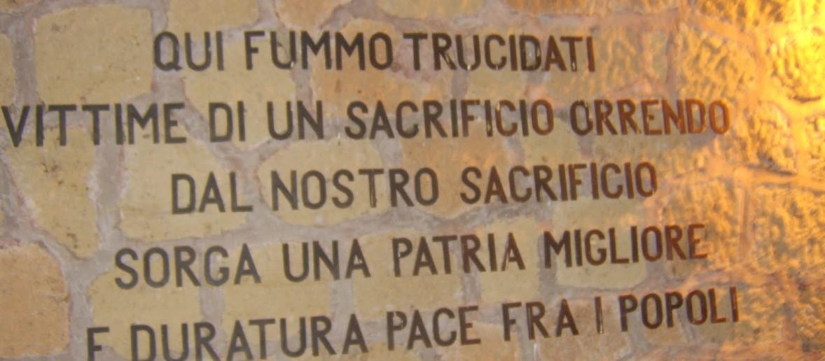 FOSSE AREDEATINE. RICORDIAMO LE 335 VITTIME DELLA FURIA NAZISTA