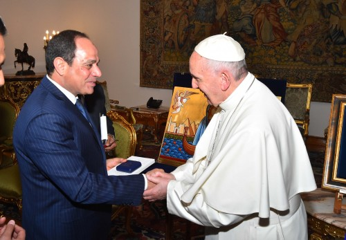 pope francis and president el sisi  3