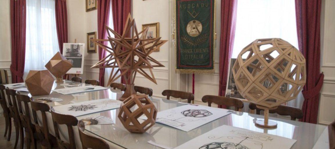 Con Leonardo al Vascello. Al Grande Oriente una mostra dedicata al genio fiorentino