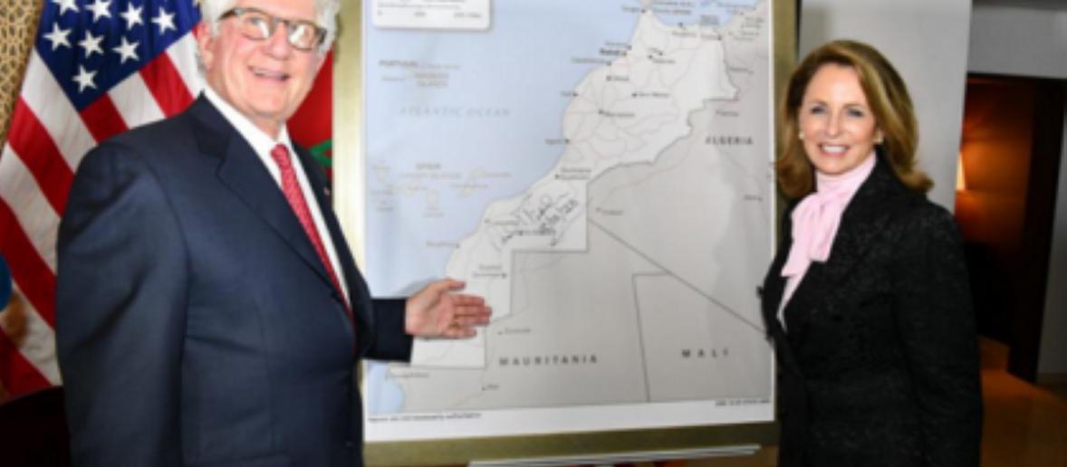 Marocco: l'ambasciatore statunitense mostra la mappa che include il Sahara
