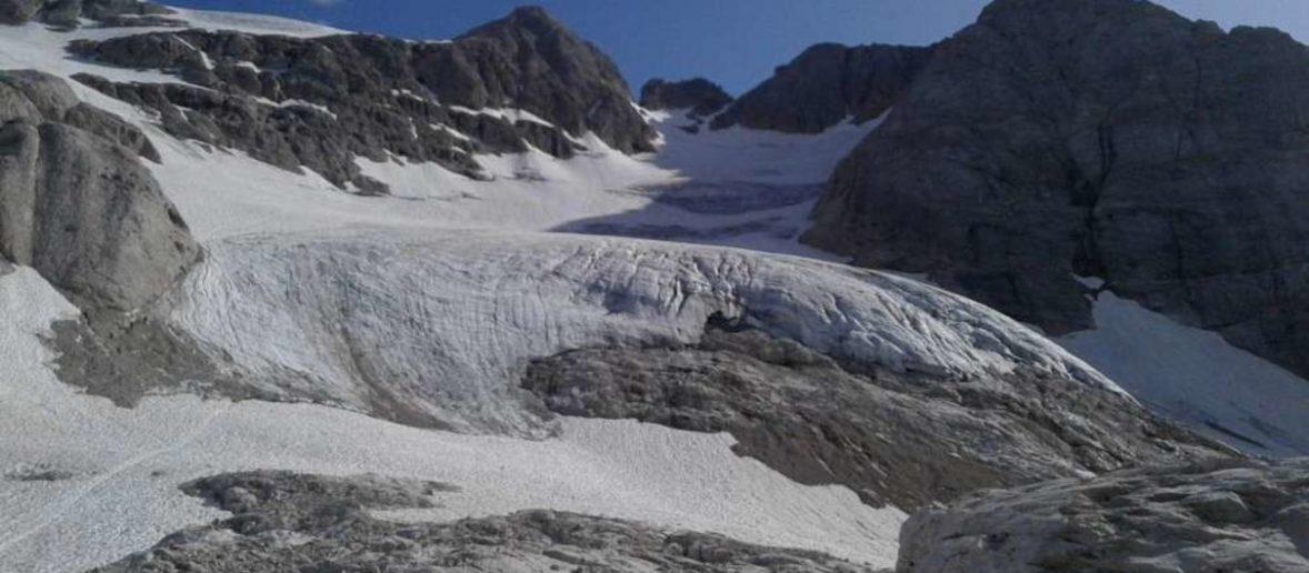 I ghiacciai d'Italia si sciolgono